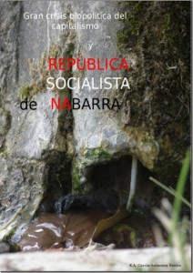 Caratula del libro Gran crisis biopolítica del capitalismo y Republica Socialista de Nabarra