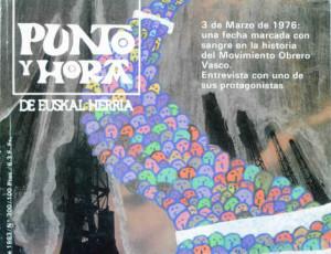 Punto y Hora de Euskal Herria - Portada de la semana del 3 al 11 de marzo de 1983