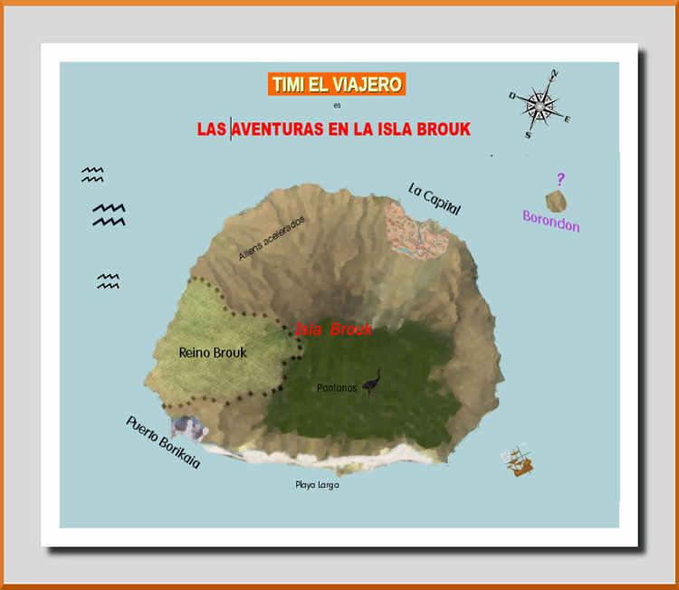 ...La Isla Brouk, una Isla de misterios y aventuras entre Brasil y Europa...