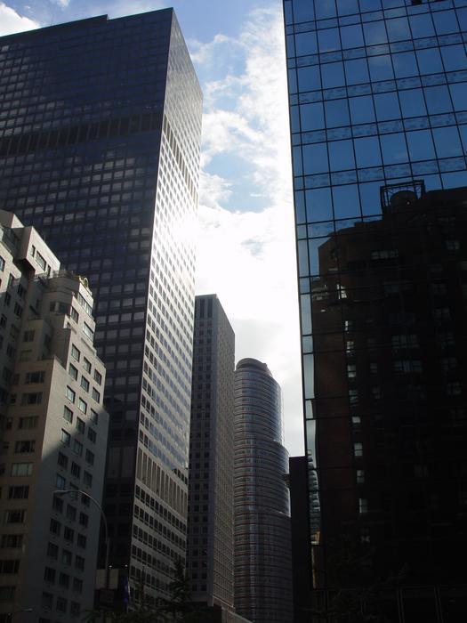 Rascaciélos en Nueva York