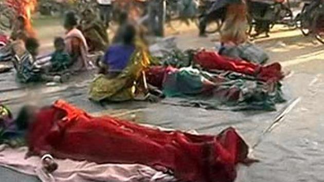 Dejan en la calle a más de 100 indias tras una esterilización en masa