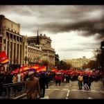 Manifestación pro republica en Madrid