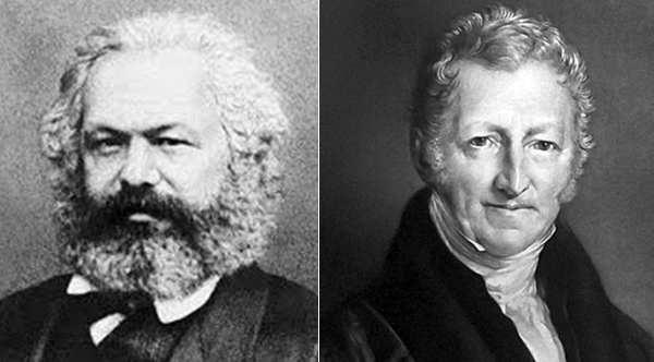 Marx y Malthus