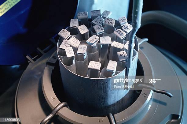 Almacen de embriones congelados a la espera de su implantación