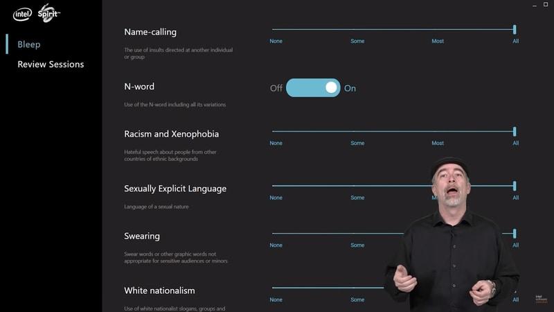 Intel responde a las críticas de Bleep, su nueva tecnología para eliminar insultos mediante la Inteligencia Artificial